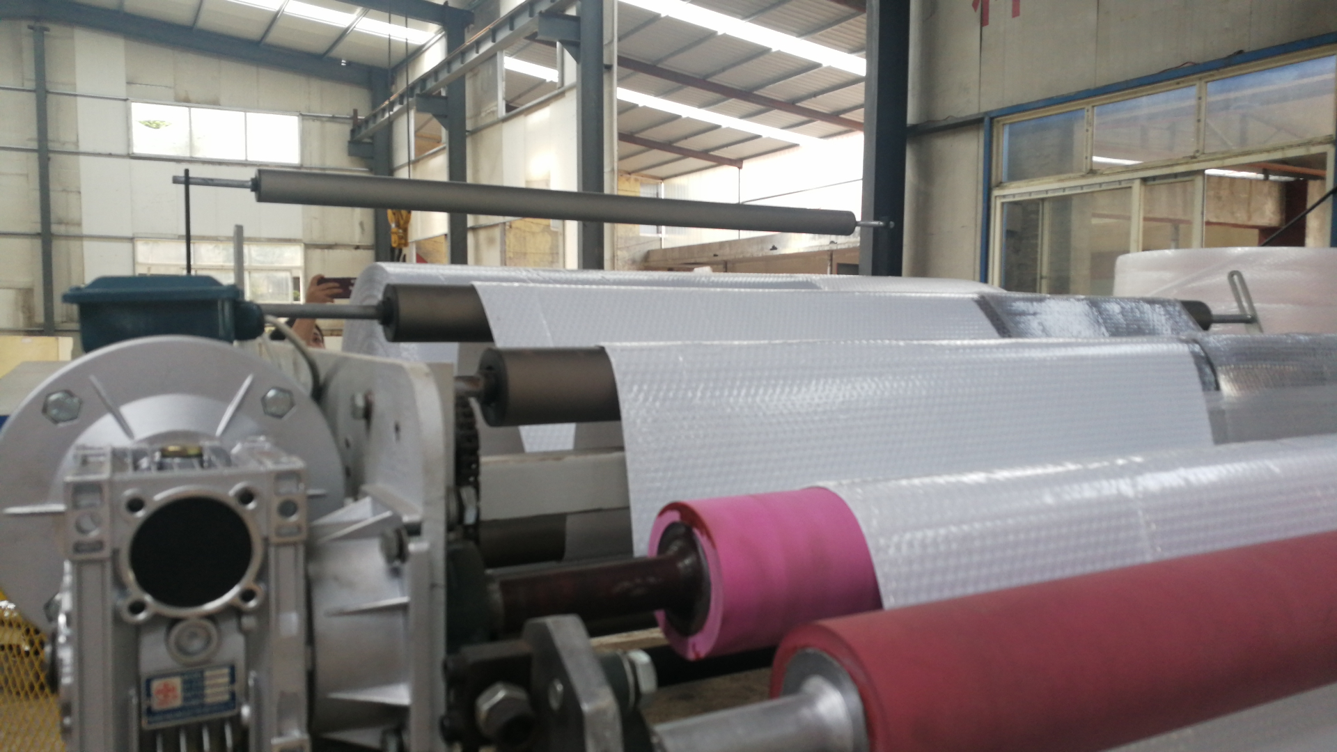 2-4 Layers Supplier wholesale double-larye PE air bubble film wrap making machine price