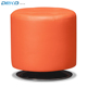 Luxuries Tufted fabric Round swivel Padded Ottoman Foot Rest Stool