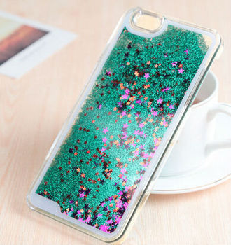Floating Bling Stars Liquid Moving Glitter Case For Iphone 6 - Buy ... dae43c5e3e96