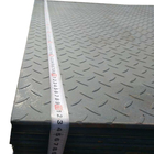 Hot Dipped Galvanized Steel Checkered Plate for sale ASTM A36 Q235B SS400 5mm thickness