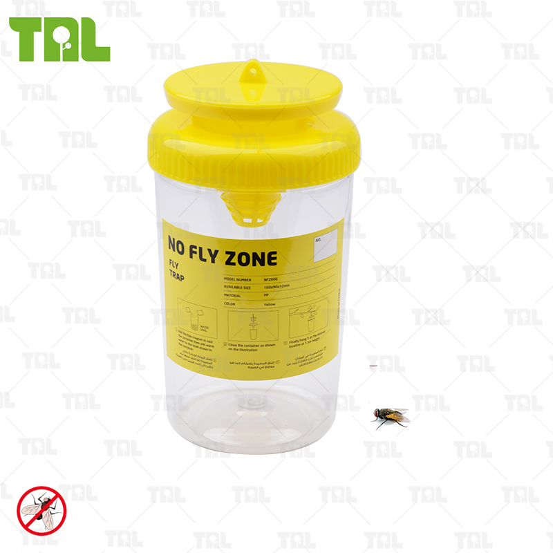 Efficace di Plastica Fly Trap Con Fly BaitTLFBS0301