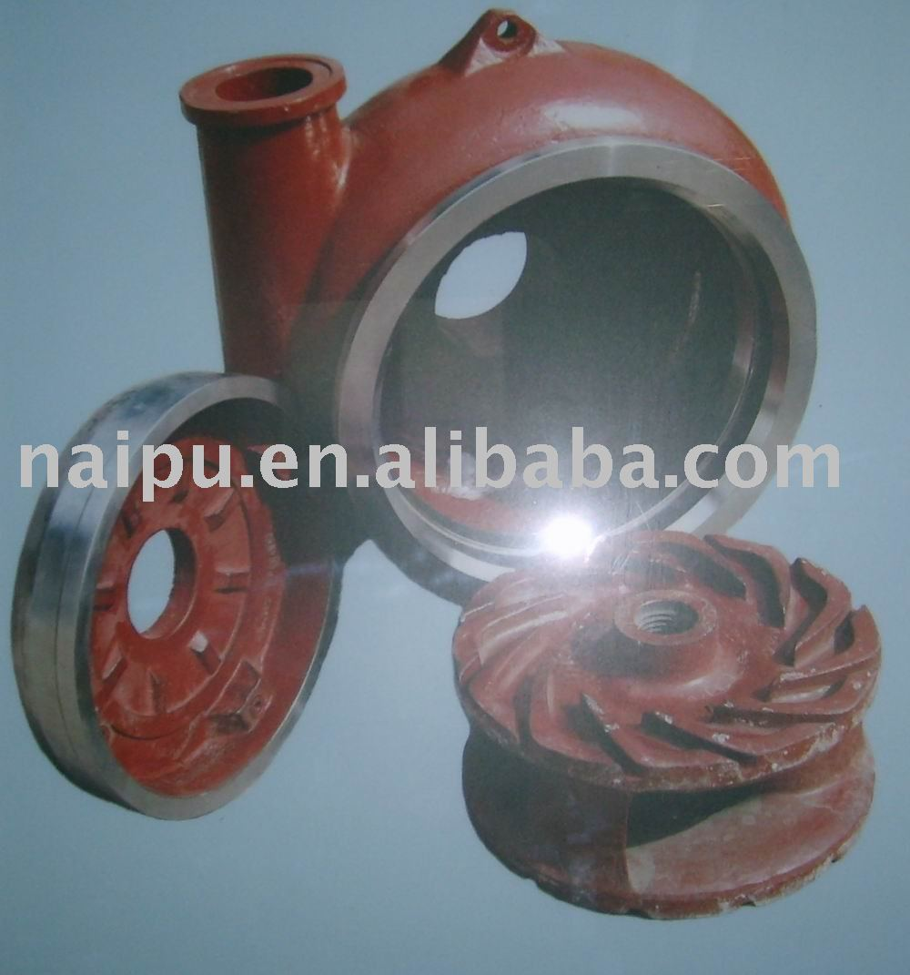 Slurry pump wet part