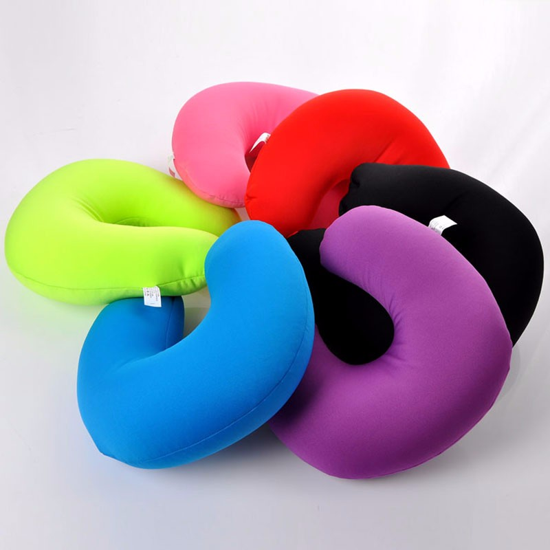 Best compact inflatable neck pillow for Airplanes