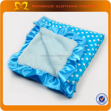 2014 New style 100% polyester printed knitted baby blankets wholesale and wholesale baby blanket