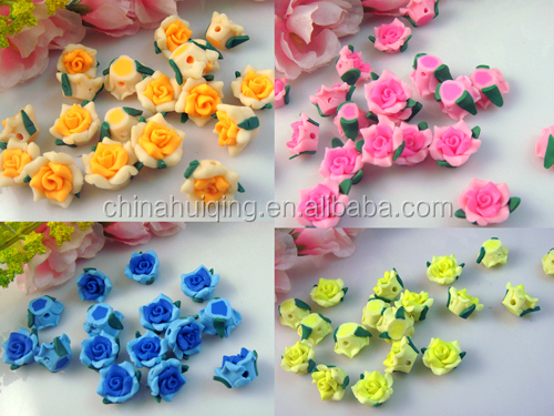 Wholesale 3d Handmade Handicraft Miniature Artificial Rose Nice