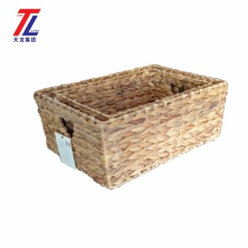 Superieur Eco Friendly Bread Basket Weaving Rectangle Straw Decorative Storage Baskets