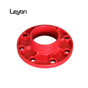 Cast Iron Grooved Pipe Fitting Split Flange ductile iron puddle flange casting iron adaptor flange
