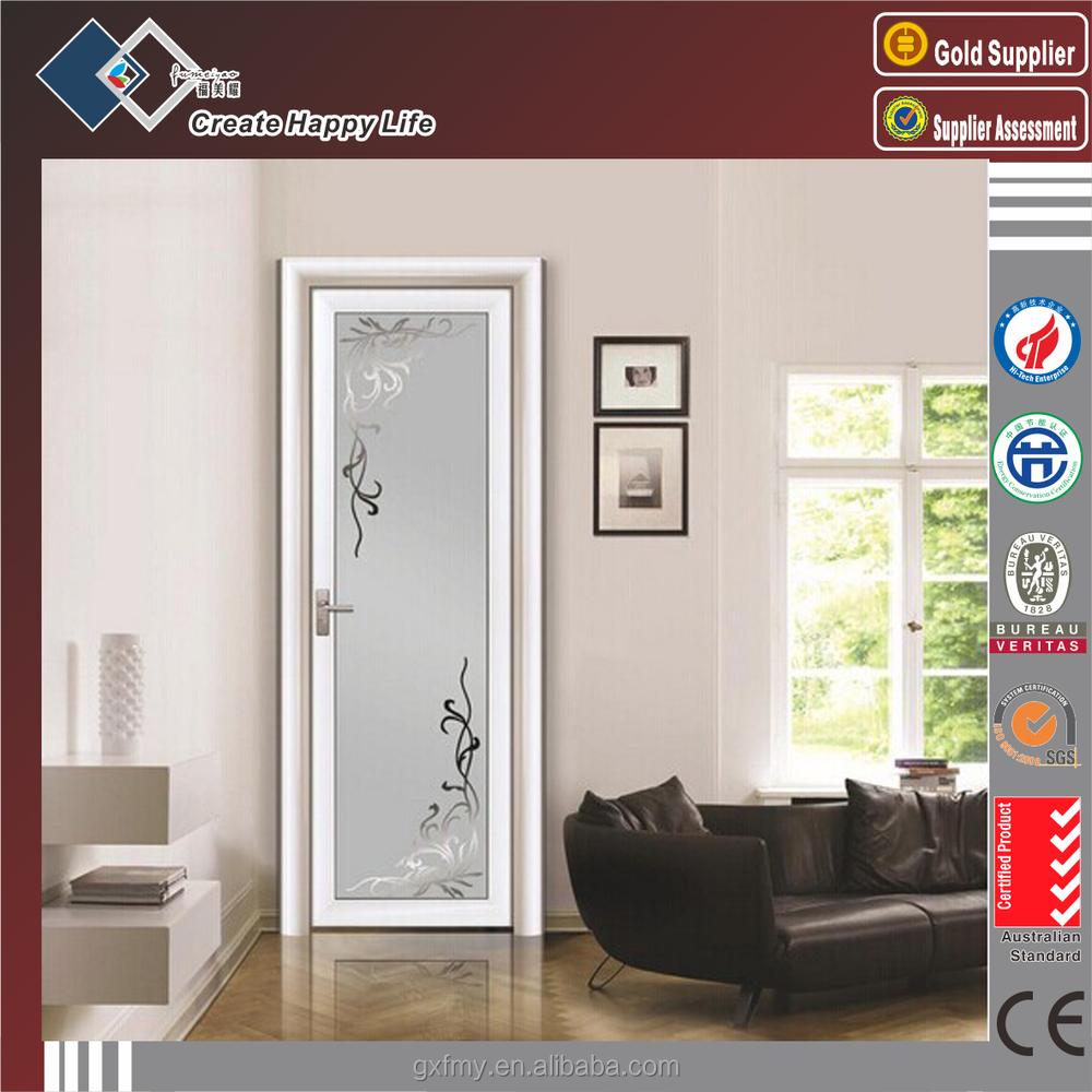 China Wholesale Single Door Design/Frosted Glass Toilet Door ...