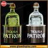 Patron Tequila silver glorifier lighted bottle stand