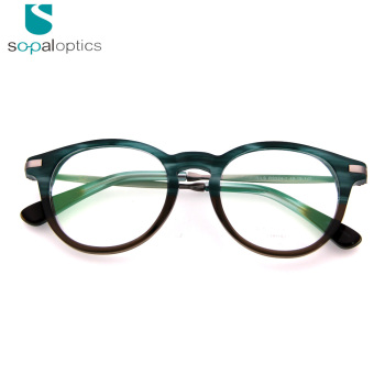eadf7785e02 2018 New Italy designer vintage style prescription metal China wholesale optical  eyeglass frames for mens amd