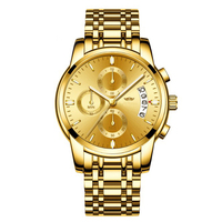 China watch factory quartz japan movt curren roles men gold luxury watch supplier