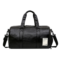 wholesale sports direct small waterproof stylish ladies leather gym bag with shoe compartment