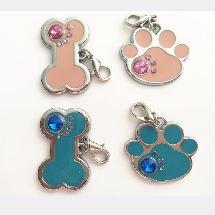 Custome Bone Shape Dog Tags Pet Tags
