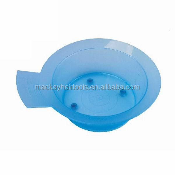 salon hairdressing plastic hair color tint bowl