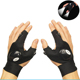 gloves fishing motorbike climbing gloves led outdoor camping cycling