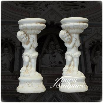 Stone Carving Outdoor Decoration Flower Pedestal Stand