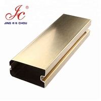 Low Moq Competitive Price Of Stainless Steel Door Frame For Glass Door