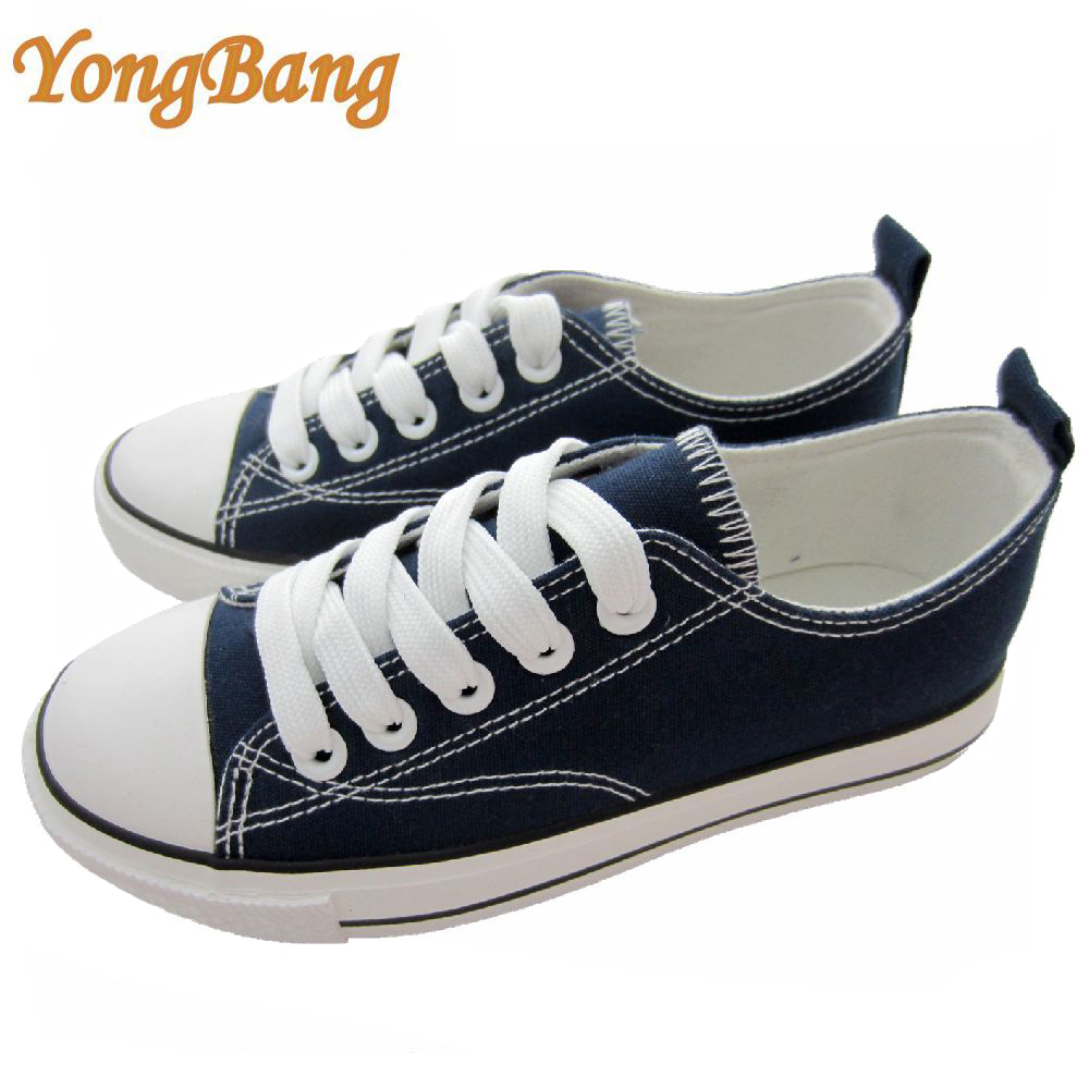 All size classic low price china canvas shoes rubber sole