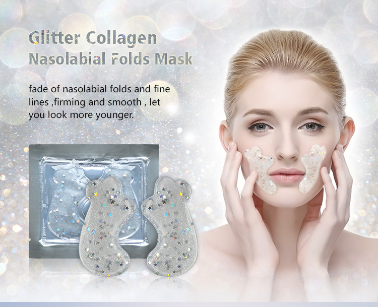 Mondsub Collagen Facial Nasolabial Folds Mask for Skin Care