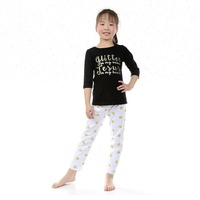 latest girls' outfit design glitter top match gold dot pants set wholesale girls' clothing sets
