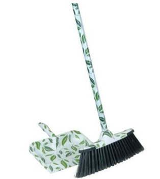 Leaf Design Broom and Dust Pan Set  sc 1 st  Alibaba & Leaf Design Broom And Dust Pan Set - Buy Flower Print Dustpan And ...