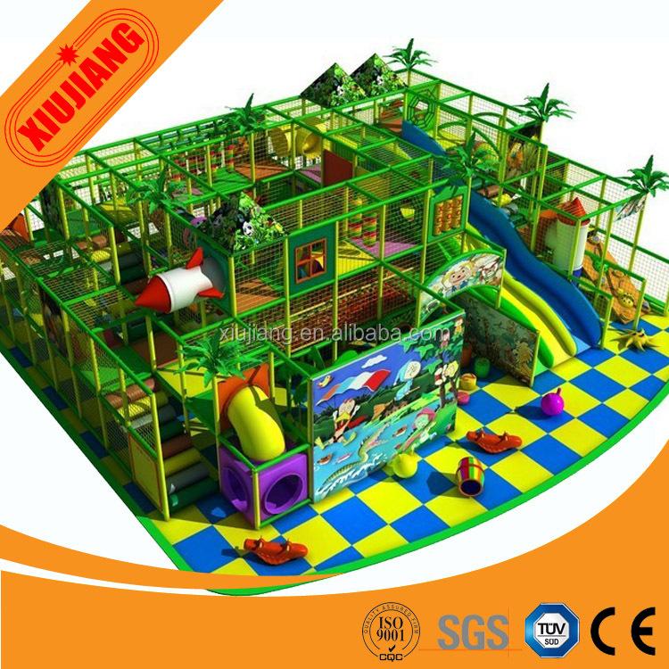 Xiujiang comercial personalizada equipo del patio interior, espuma ...