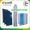 Solar powered irrigation water pump solar submersible water pump for agriculture