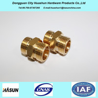 brass pipe fitting names and parts for plumbing use