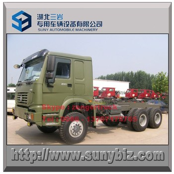 8.5 Meter Cargo With Howo 6x6 All Wheel Drive 371 Lorry Transport ...