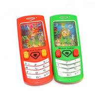 Factor Direct Sale Mini Plastic Toy Cell Phone Water Game For Kids