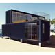 container house villa / resort container house price living container house designed and made from factory