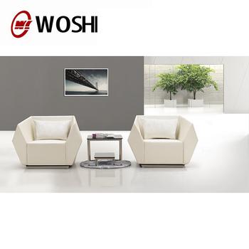 Modern Office Reception Sofa Black