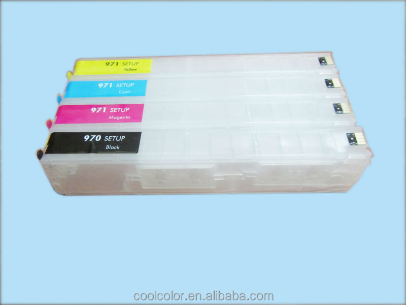 hot sale ! refillable cartridge and CISS for HP 970