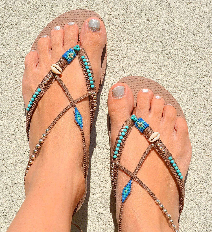 71ef69905f9f21 Get Quotations · Unique Women s Sandals