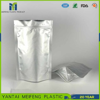 250g 500g Food Safe Plastic Bags Eco Top Quality Grade Heat Seal Foil Bag