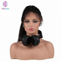 Female realistic makeup mannequin head