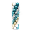 Decorative new design plastic christmas ball set