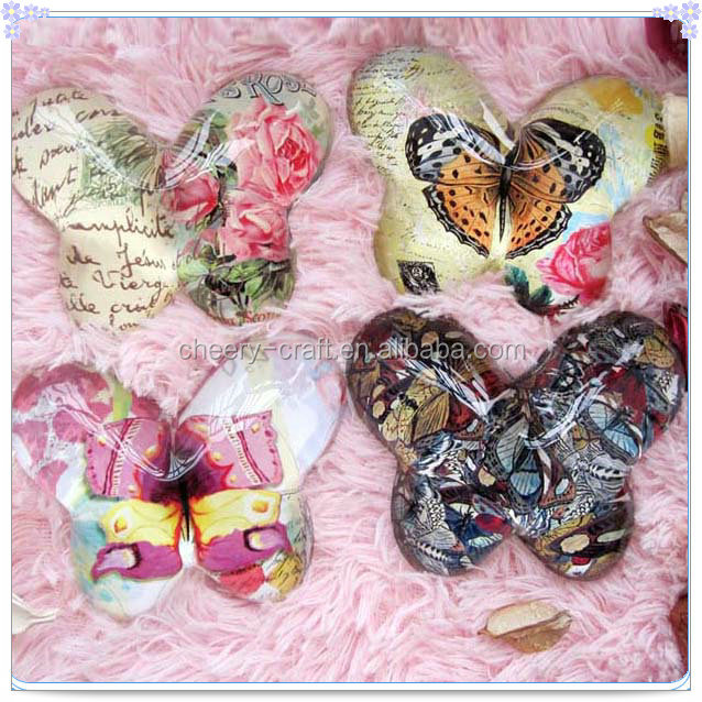 Guest Gifts Bulk Various Choice Butterfly Crystal Paperweight