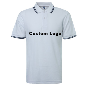 Small Quantity Plain Cotton Polo Shirts Custom Brand High Quality OEM Polo Shirt For Men's Clothing Wholesale Guangzhou Supplier