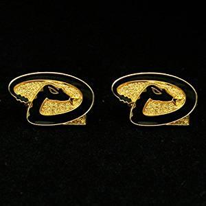 MLB Arizona Diamondbacks Team Logo Post Earrings