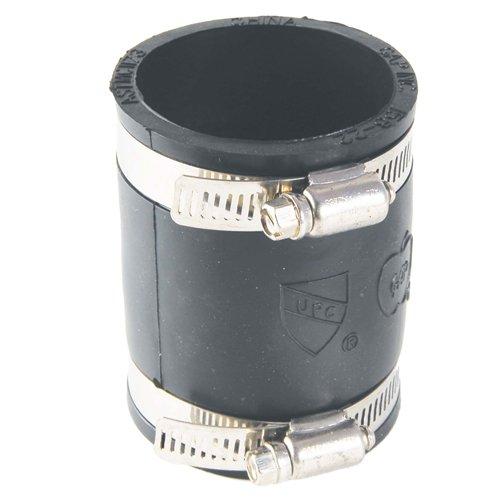 Mission Rubber 105642 MR56 42 Flex-Seal Coupling 4-Inch Plastic//Cast-Iron to 2-Inch Plastic//Cast-Iron