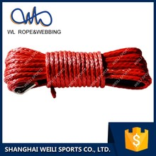 (WL Rope) synthetic uhmwpe winch cable line rope for vehicle car UTV/SUV multicolor