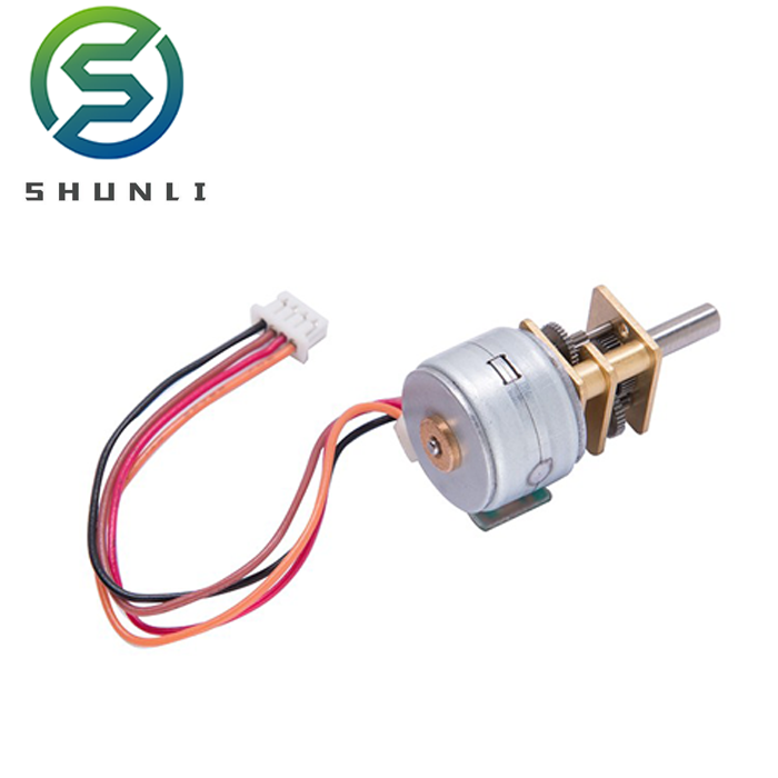 8v cctv camera used gm12 gear reducer stepper micro motor 1 watt with CE certificate