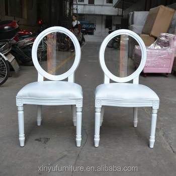 White Wedding Chairs In French Style / Kids Party Furniture XD1003