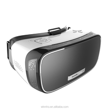 2017 new All in One VR lenkewi V2 3D Glasses Headset with 360 degree Panorama 4K vr headset virtual online PS4 games video