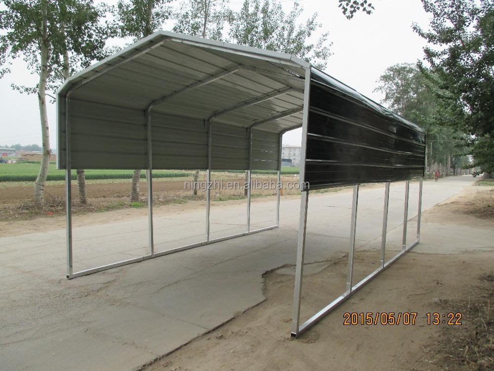 Carport 6 m x 9 m jardin cour hangar portable voiture for Hangar jardin