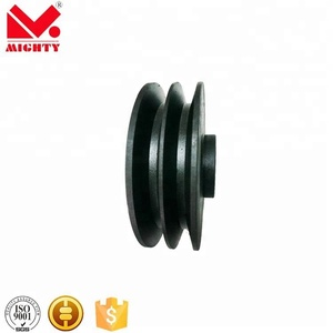 4 row steering v belt pulley u v belt groove hanging roller/sliding door pulley/small plastic nylon wheels with bearings
