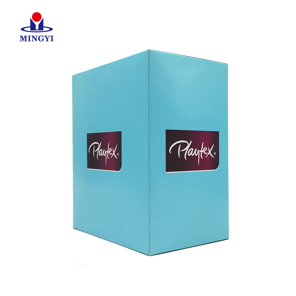 Custom Boxes with Logo Clear Window Chocolate Cake Sustainable Pvc Jewellery Gift Paper Beauty Blender Pink Box Packaging