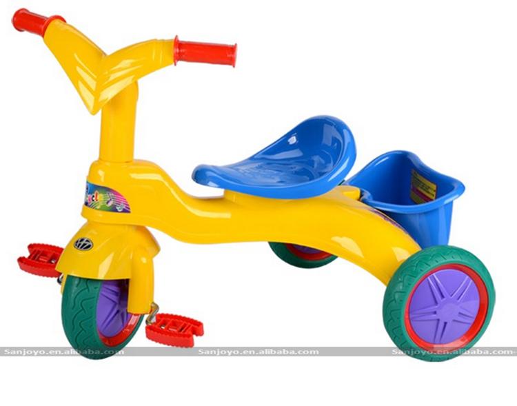 superventas del beb paseo en coche de los juguetes de plstico beb triciclo de tres ruedas