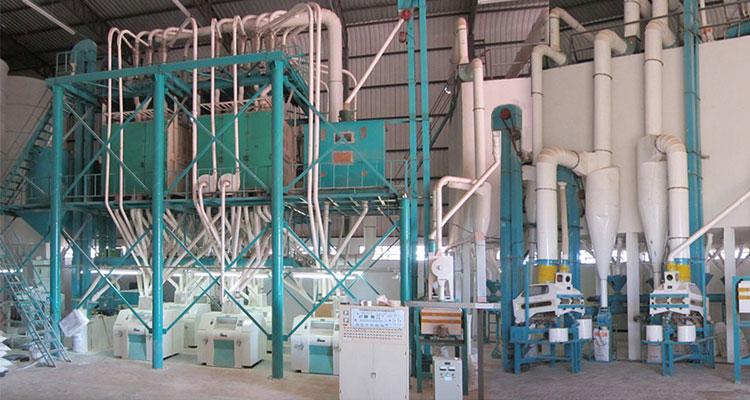 Introduction Of Shijiazhuang: Automatic Atta Sooji Maida Farina Wheat Flour Mill Plant